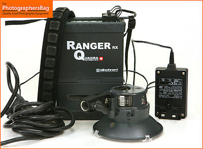 Elinchrom Ranger RX Quadra Professional Lighting Kit Battery A Head Free UK PP
