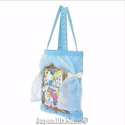 New Japan Disney Store Alice in Wonderland BTSSB Limited Release Canvas Tote Bag