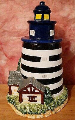 Lighthouse cookie jar