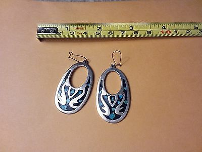 Vintage Silver Earrings 925 Ts- 79