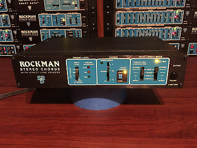 Scholz Rockman STEREO CHORUS #2,175 - Very Good Condition - BUY IT NOW!!
