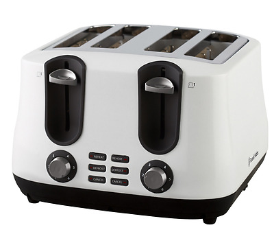 Russell Hobbs ® Siena 4-slice toaster - White - Brand New - Free Shipping