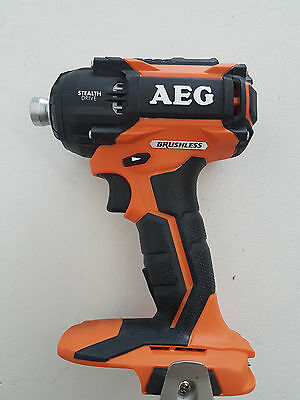 AEG 18v Brushless Oil Pulse Stealth Impact Driver - New condition