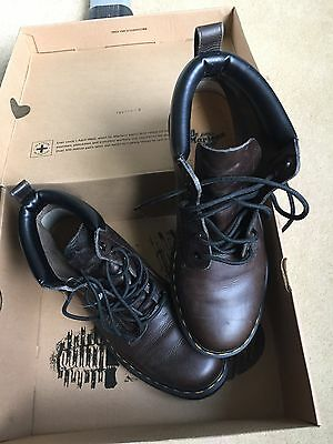 Mens Dr Martens boots Size 9 (UK)  (EU 44) Dark Brown  in Box and fm bag