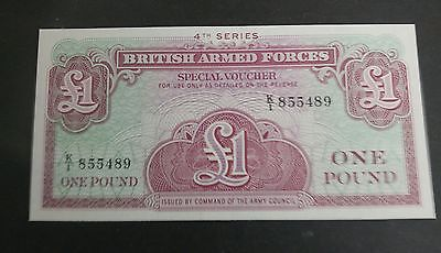 Gb Banknotes - British Armed Forces £1 K/1 855489