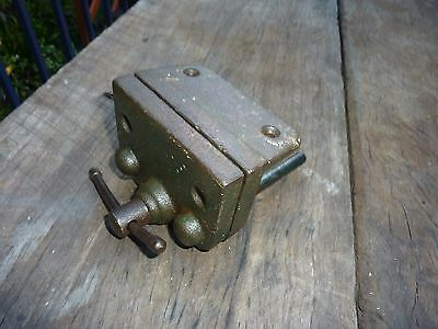 Vintage Small Bench Vice Jewellers craft Old Tool workshop man cave