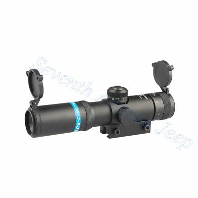 EB 4×21 AO Rifle Spotting Scope SKS Reticle HD Coated Sight 21mm Mount Dia