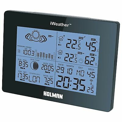 Wireless Weather Station Holman I Weather Professional Thermometer Digital