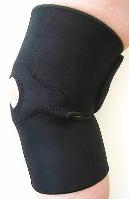 Magnetic Knee Support Neoprene Pain Arthritis Sport  Open Patella