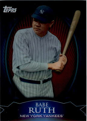 2010 Topps Chrome Wal-Mart Exclusive Refractors #WME1 Babe Ruth