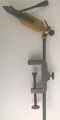 Integra Lever Action Fly Tying Vice - Bench Clamp Style