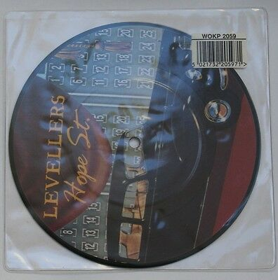 """Levellers """"hope Street"""" Rare Picture Disc 7"""" Near Mint Rock"""