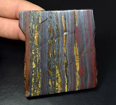 418.25 Cts. 100% Natural Multi Iron Tiger Slice For Making Cabochons