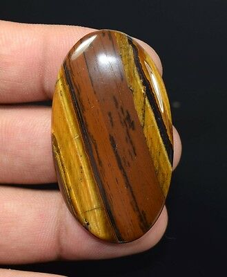 Unique ! 80.35 Cts. 100 % Natural Multi Tiger Eye Oval Cab For Silver Pendant