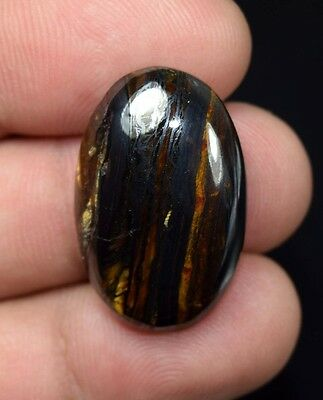 Iron Tigers Eye  ! 36.30  Cts. 100 % Natural  Oval  Cab For Silver  Jewelry