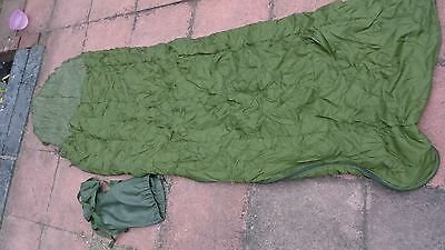 British Army Issued Sleeping Bag Lightweight with Stuff Sack