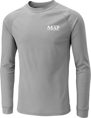MAP Long Sleeve Base Layer Top Grey - All sizes