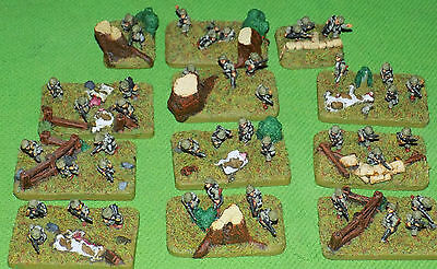 Well Painted 15mm Flames of War US Para Rifle Platoon #2