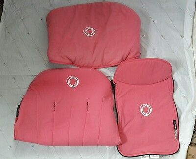 Bugaboo Cameleon set Pink fleece fabric to fit the cameleon 1&2