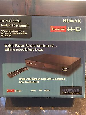 Humax Freeview Recorder HDR-1800T 320 GB