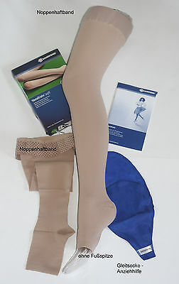Med.  Kompressionsstrümpfe VenoTrain soft  AG Gr. S normal short Ccl. 1  NEU