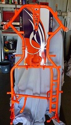 NEW EXPRIT OTK DD2 BARE CHASSIS 30mm WITH FLOOR TRAY - Same as Kosmic Tonykart
