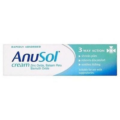 Anusol Cream 43g Triple Action | Relief From Piles & Itching