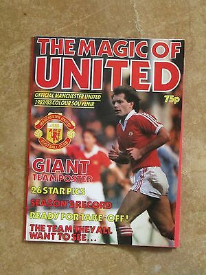 Magic of United Manchester United Poster Magazine 1982/83