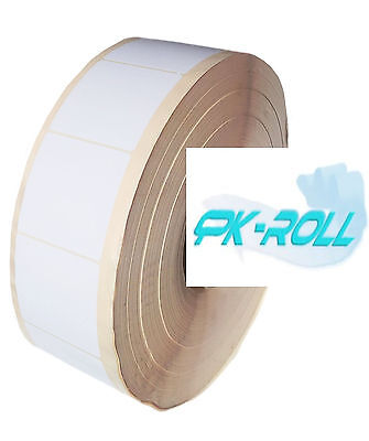 White Self Adhesive Sticky Address Printer Labels Rolls 76X76mm 3x3inch