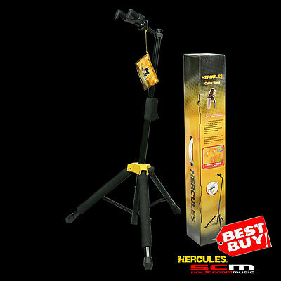 HERCULES GS415B PREMIUM GUITAR STAND AUTO GRAB SYSTEM HOLDS 15Kg