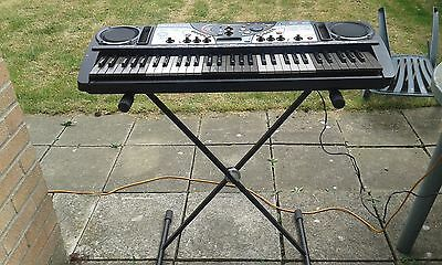 Yamaha DJX II  Keyboard with stand