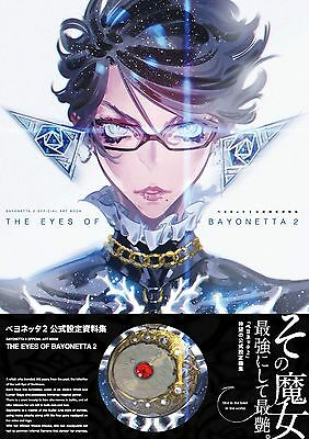 The Eyes of Bayonetta 2 official design works artbook art book NEW