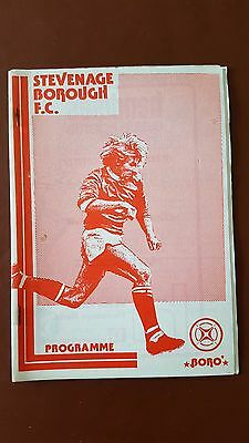 Stevenage Borough v Sportklubben Vard 1981 / 1982 Friendly