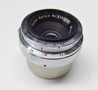 ZEISS IKON  ZEISS-OPTON BIOGON f2.8 35mm LENS FOR CONTAX RANGEFINDER