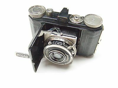 KODAK RETINA  FOLDING CAMERA WITH f3.5 5cm XENAR LENS. TYPE 117. 1st MODEL