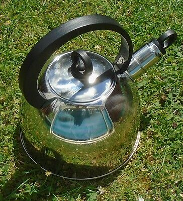 Whistling Camping Kettle. SunnGas. 2 litre, 400g. Good used