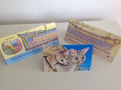 Three Australian Stamp Booklets All In Mint Condition