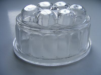 Small Vintage Glass Jelly Mould