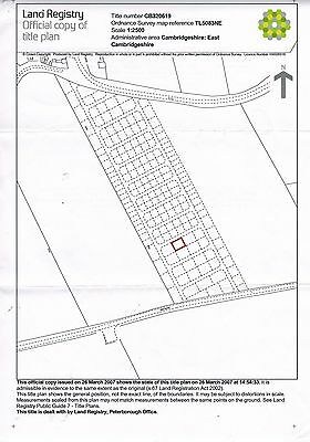 Freehold Land for Sale in Little Downham near Cambridge