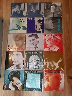 """The Smiths & Morrissey Job Lot Of 7"""" Vinyl Singles What Difference Does It Make"""