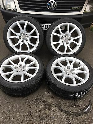 "Genuine Audi A5 18"" Speedline Alloys And New Tyres"