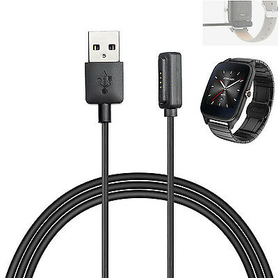 New For ASUS ZenWatch 2 Smart Watch USB Magnetic Faster Charging Cable Charger