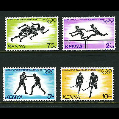KENYA 1984 Olympic Games. SG 312-315. Mint Never Hinged. (AM264)