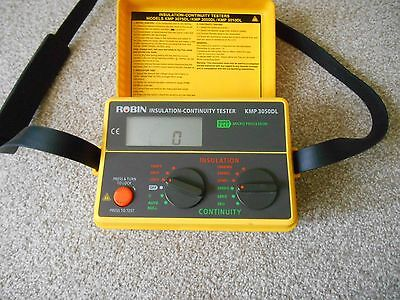 Robin Kmp3050Dl Insulation And Continuity Tester