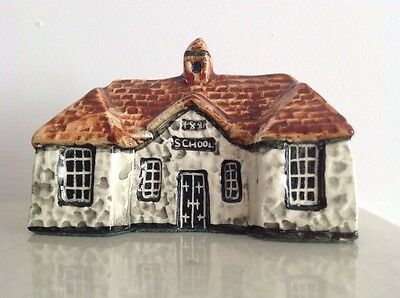 Tey Pottery 'Britain in Miniature' Countryside Collection - The School House