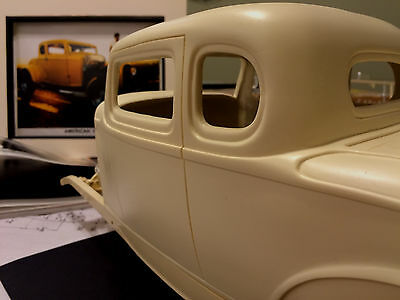 NEW 1/8 scale CHOPPED 1932 Ford 5 Window Body Big Deuce 32 coupe Milner rc