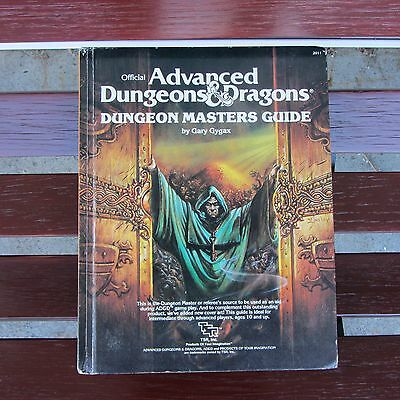 Official Advanced Dungeons & Dragons Dungeon Masters Guide (Hardcover 1979) Nice