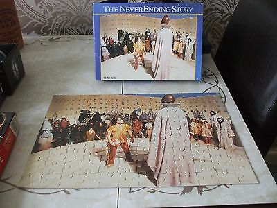 Jigsaw Puzzle Vintage retro Hestair 1980's The NeverEnding Story 108 piece Comp