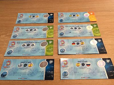 """UEFA Euro 2008 """"way of spain"""" all tickets from group phase to final"""