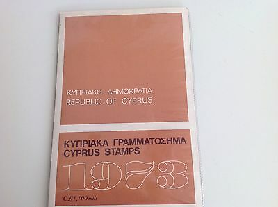 Cyprus 1973 Official Year Pack Mnh